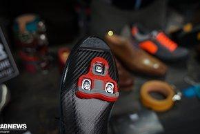 ...oder Look mit Carbonsohle – auch die Pedalplatten sind frei wählbar