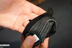 Innen wärmt Tech-Wool von Primaloft