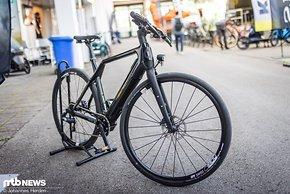 Und so sieht das E-Urban-Bike von Cyklaer aus.
