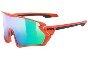 Auch diese Brille kommt mit einer extragroßen Scheibe ...