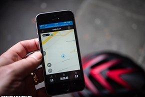 Die Position auf der Google-Karte