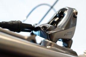 Flat.-Mount-Standard für 160 mm auch am Hinterrad