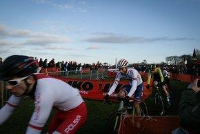 Der Brite Ian Field fuhr auf Platz 53