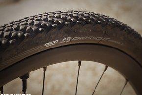 Die Cross Cut Reifen hinterließen einen sehr guten Eindruck...