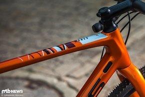 Der metallische Orangeton ist neu beim Mares