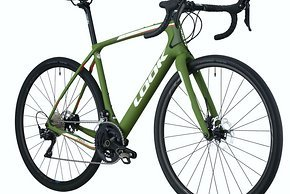 Das neue Look 765 Gravel in Green Matt