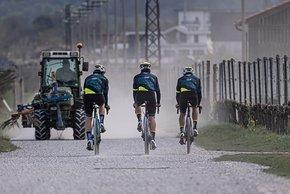 Hauptsächlich abseits von befahrenen Straßen möchte das Team unterwegs sein.