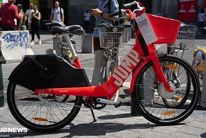 Uber E-Bike fahren...