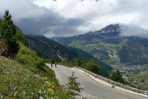 Der Blick über Val d'Isere