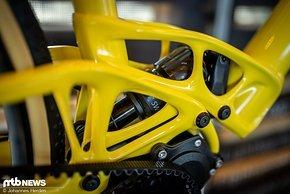 Viel am Bike kommt aus dem 3D-Drucker …