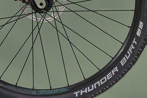 Schwalbe Thunder Burt XC-Reifen versprechen leichtes Rollen