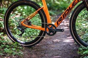 ...aber auch Aero-Laufräder anderer Hersteller sind zu haben