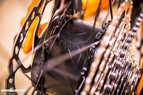 Der X35-Motor von Mahle ist in die Hinterradnabe integriert.