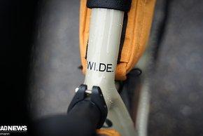 Das WI.DE. ist mit Reifenfreiheit...