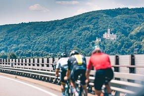 Auf dem Weg am Rhein entlang nach Bonn