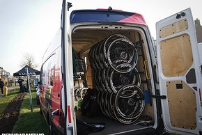 Blick in den Trinity Mechaniker-Truck...