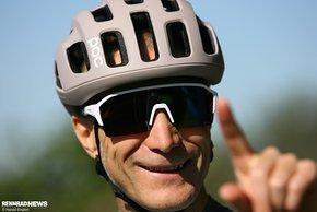 Rennrad-Brillen können durchaus modisch aussehen