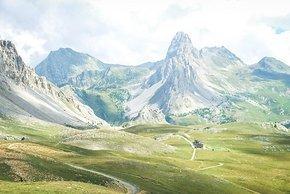 'Little Peru' Colle del Preit - Blick vom Passo Gardetta