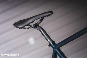 """Mit Ritchey-Paket und Shimano Ultegra wog das Rad in """"M"""" 9,7 kg"""