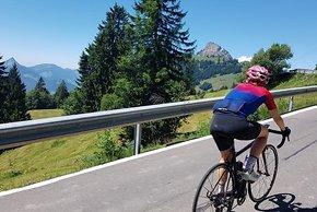 Der SR Pro Women unterwegs in den Schweizer Alpen...