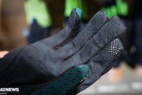 ...und ist Touchscreen tauglich – wie alle Giro Handschuhe