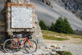 Ein Stück auf der Route des Alpes