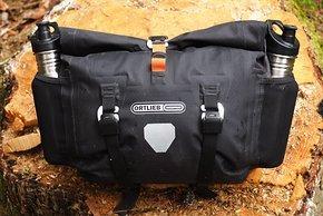 In den geräumigen Seitentaschen ist noch einmal Zusatzstauraum für oft Benötigtes.