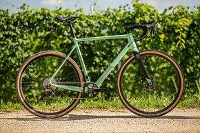 Basis für das Bike bildet ein Carbon-Rahmenset
