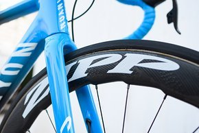 Zipp-Laufräder mit NSW-Felgenprofil