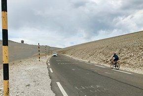 ...und am Mont Ventoux
