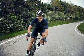 Fabian Cancellara hat der Kollektion nicht nur seinen Namen gegeben, sondern sieht auch seine eigenen Ansprüche in Details umgesetzt