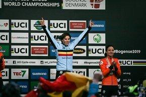 Sanne Cant schaffte den 3. WM-Titel