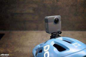 Zusätzlich zum höheren Gewicht baut die GoPro Fusion relativ hoch auf