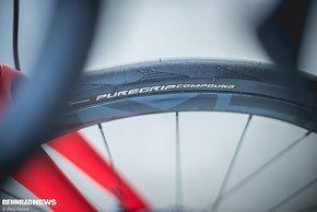 Neuer Conti Grand Sport Race SL mit Puregrip Gummimischung