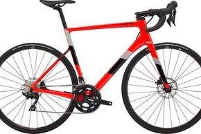 Supersix Carbon Disc 105 2x11 für 2.799 €. Mit Fulcrum Racing 900 db Laufrädern und Cannondale 1 Semi-Kompakt Kurbel