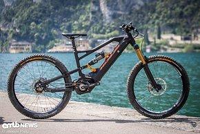 Durch den massiven Rahmen wirkt das Nicolai ION G16 EBOXX E14 fast wie ein Big-Bike