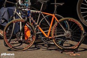 Von Dean Bikes aus Colorado kommt dieses schmucke Stück Titan
