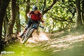 Eigentlich ist Hannes aber auf dem Mountainbike zuhause.