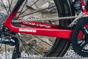 Shimano bliebt auch bei Team Ineos der Ausrüster für Antrieb, Schaltung und Laufräder