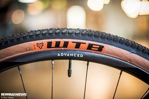 Der WTB Riddler Reifen in 45 mm findet sich nur am C:62 SLT