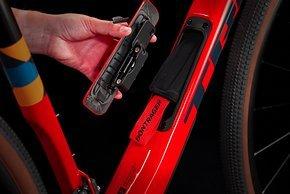 Neu ist das Staufach an den SL und SLR Modellen mit Carbonrahmen