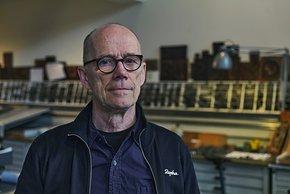 Erik Spiekermann ist selbst leidenschaftlicher Rennradfahrer und sammelt Rennräder