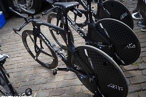 Das Pinarello Bolide Rad von Geraint Thomas