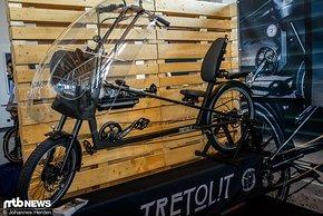 Tretolit ist ein E-Pedelec, das sich vollständig an den Fahrer anpassen lässt