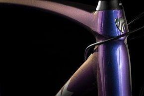 Die Purple Flip Lackierung schimmert blau-violett