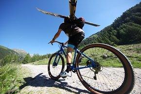Mit dem Hobootleg Geo kann man sich auch ins Gebirge wagen.
