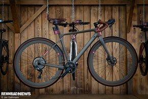 Krafstoff produziert Gravel Bikes in Wunschfarbe in Dornbirn in Österreich