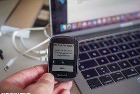 Wer Strava Live-Segmente nutzen will, Routen ans Gerät senden oder Nachrichten erhalten, muss das Smartphone koppeln