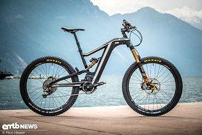Das BH Bikes Atom-X von Steffen Krill wurde auf mehr Bergab-Performance getunt