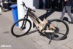 Auch die Besucher kamen mit ungewöhnlichen Bikes